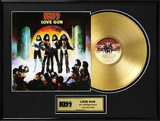KISS - LOVE GUN GOLD LP GOLDENE SCHALLPLATTE