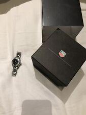 TAG Heuer Link Bezel Black Diamond Wrist Watch Ladies WJ1318-0 $3200+tax