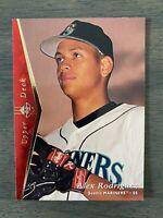 NRMT MT MINT 1995 UPPER DECK SP Alex Rodriguez #188 Red Foil Possible PSA 9+?