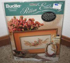 BUCILLA RIBBON EMBROIDERY KIT~~ VICTORIAN SPRAY #40972~~NIP