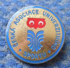 CZECH REPUBLIC UNIVERSITY SPORTS FEDERATION PIN BADGE