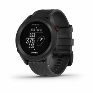 New Garmin Approach S12 Golf Watch - Black
