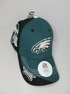 PHILADELPHIA EAGLES NFL Football Embroidered Helmet Hubris Cap Youth Kids New