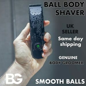 🏆 Manscaping Groin Pubic Hair Trimmer Waterproof Manscape Safe Smooth Balls UK