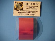"1/72 1/35 1/16 1/6 Anti Reflection Coating Lens Sticker (2"" X 3"" inch Sheet)"