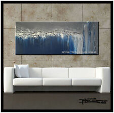 Direct from Artist Large ABSTRACT CANVAS PAINTING WALL ART 60in USA ELOISExxx