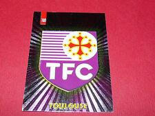PANINI FOOTBALL CARD 98 1997-1998 BADGE ECUSSON TOULOUSE FC Téfécé TFC STADIUM