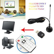 Mini USB DVB-T Digital TV HD Receiver Tuner Stick OSD MPEG-2/4 For Laptop PC UK