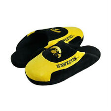 NWT - Iowa Hawkeyes Low Profile Scuff Slippers by Comfy Feet- Mens Large