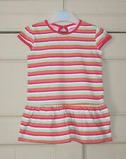 Cherokee Summer Stripe Dress with Matching Knickers - Age 9-12 Months - Used VGC