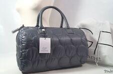 GIANFRANCO FERRE Grigio Trapuntato Palestra Weekend holldal Handbag Tote BAG GRANDE NUOVA!!!