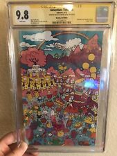 Adventure Time 16 Bleeding Cool Cover CGC 9.8 Signed sketch by Finn Jeremy Shada