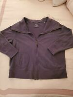 NATALIE AND ME WOMAN Jacket Size X Large Grey 2 Front Pockets
