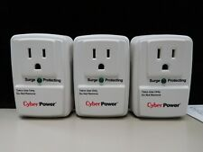 CYBER POWER SURGE PROTECTORS LOT OF 3 BRAND NEW (21504-ELE-SHELF)