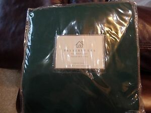 New Pottery Barn Outdoor Furniture Cover Corner Chair  Patio Green Canvas