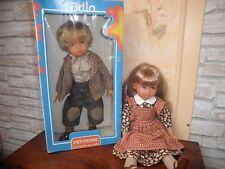 Poupées Bella «Frédéric et Natacha»