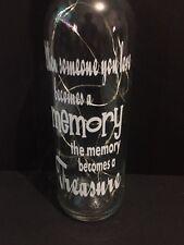 Memory Led light up bottles