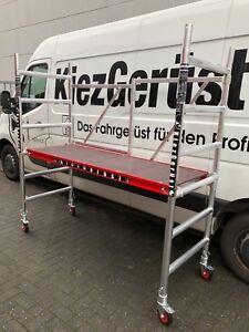KiezGerüst Ausstellungsstück Rollrüstung Gerüst Zimmergerüst Ah. 3,00 m Klapp