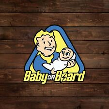 Vault Boy Baby on Board (Fallout) Magnet
