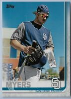 2019 Topps Series 2 Baseball Short Print Variation Wil Myers #485 SD Padres