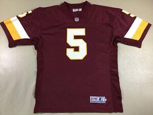 Washington Redskins Heath Shuler #5 Football-NFL Starter Proline Jersey Size48