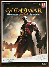 God of War 'Ghost of Sparta' PSP Original Video Game Promo Poster 43x60cm #2