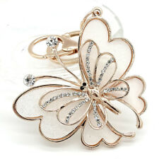 Crystal Rhinestone Keyring Charm Pendant Purse Bag Key Ring Chain Keychain #270