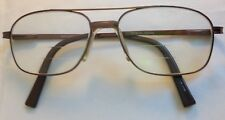 Woolrich 7765 Brown Polished Metal 54-16-140 Eyeglasses Glasses Eyewear