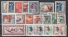 INDONESIA ( Vienna issues)  ^^^^^#1//69  hinged collection  $$@ lar 381indo