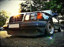 Mercedes W124 C124 WIDE front bumper spoiler chin lip addon valance trim DTM AMG