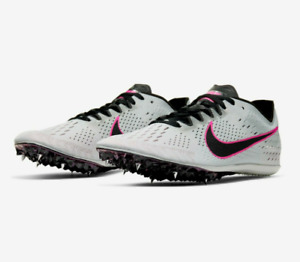 Nike Zoom Victory Elite 2 Gray/Pink Track Spikes Men (Size: 5.5~12) 835998-002