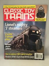 CLASSIC TOY TRAINS November 2004 Issue LIONEL'S MIGHTY 'J' STEAMERS