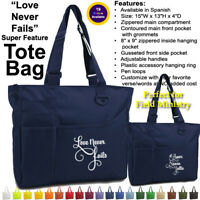UltraClub Super Feature Tote Bag 8811