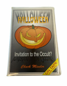 Halloween Invitation to the Occult? Chuck Missler Audio Cassettes w/ Study Notes