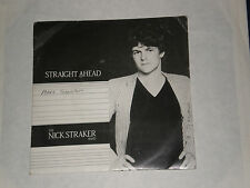 "THE NICK STRAKER BAND-STRAIGHT AHEAD - 1982 Firebird Pic. manches 7"" - EXC."