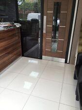 OFF White 60X60 Polished Porcelain Tile For Bathroom Kitchen, Pre-Sealed  SAMPLE