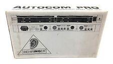 Behringer MDX-1400 Autocom Pro Audio Interactive Dynamics Processor NOS