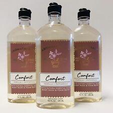 3 Bath & Body Works aromathérapie confort VANILLE PATCHOULI LAVE Corps & mousse