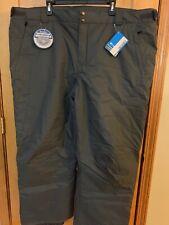 NWT Columbia Men Bugaboo II Pant - 4X - Gray - retail $105
