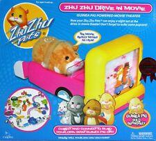 *NEW* Zhu Zhu Pets Add On Set Guinea Pig DRIVE IN MOVIE