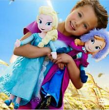 NEW 2PCS 50CM DISNEY FROZEN ANNA ELSA STUFFED DOLL SOFT PLUSH TOY