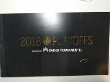 Golden State Warriors 2018 Playoffs Ticket Stub Book Two tickets