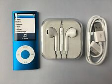 Apple iPod nano 4th Generation Chromatic Blue (8GB) new