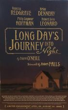 Philip Seymour Hoffman Signed LONG DAYS JOURNEY Broadway Poster Windowcard RARE!