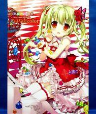 Takuya Fujima Illustrations - Vividcolor /Japanese Anime Art Book  Obi