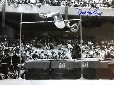Dick Fosbury- 14X11 B&W Glossy Signed Photograph