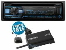 Alpine CDE-172BT 1DIN Bluetooth In-Dash CD Car Stereo Receiver + SiriusXM Tuner