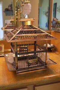 Hendryx Brass Bird Cage