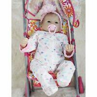 "Real Newborn 22"" Handmade Lifelike Baby Doll Reborn Silicone Vinyl+Clothes"