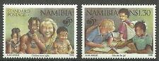 Namibia - 50 Jahre Kinderhilfswerk UNICEF Satz postfrisch 1996 Mi.Nr. 813-814